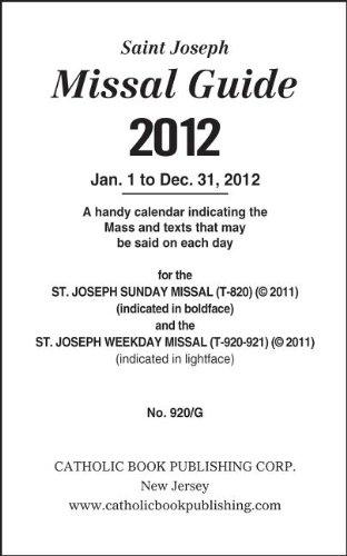 9780899421858: Saint Joseph Missal Guide (Saint Joseph Missal Guides)