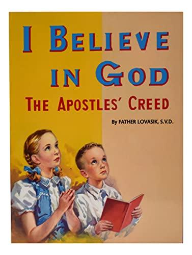 9780899422763: I Believe in God (St. Joseph Picture Books)