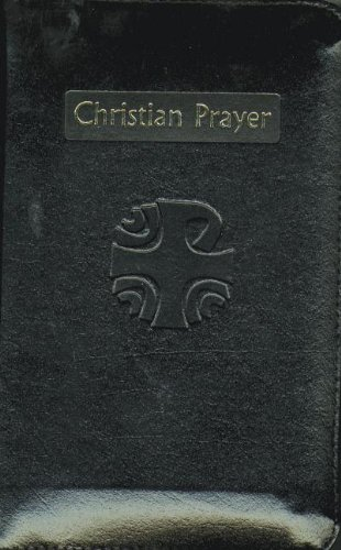 9780899424248: Christian Prayer: Liturgy of the Hours - Black Leather