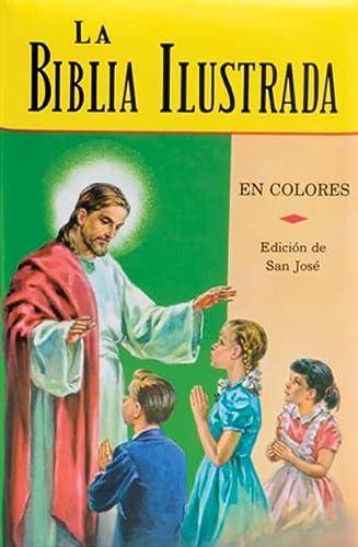 9780899424361: La Biblia Ilustrada: La Historia Sagrada en Laminas