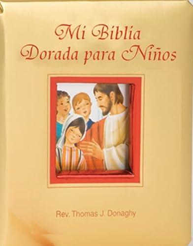 9780899424736: Mi Biblia Dorada Para Ninos (English and Spanish Edition)