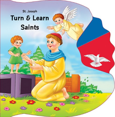 9780899425542: Saint Joseph Turn & Learn Saints (St. Joseph Kids' Books)