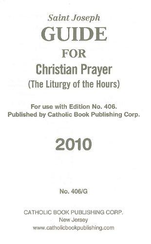 9780899425580: Saint Joseph Guide for Christian Prayer: The Liturgy of the Hours