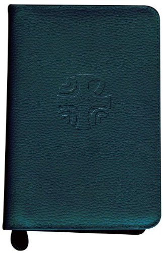 9780899425672: Liturgy of the Hours Leather Zipper Case (Vol. IV) (Green)