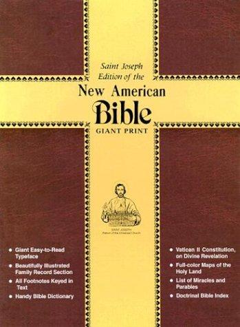 9780899426228: Saint Joseph Giant Print Bible-NABRE