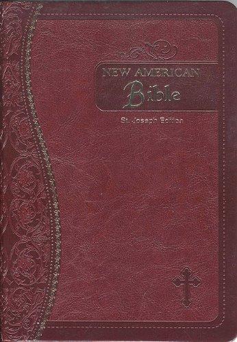 Saint Joseph Medium Size Gift Bible-NABRE (Imitation Leather)