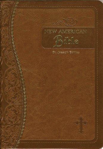Saint Joseph Medium Size Gift Bible-NABRE (Hardcover): Confraternity of Christian Doctrine