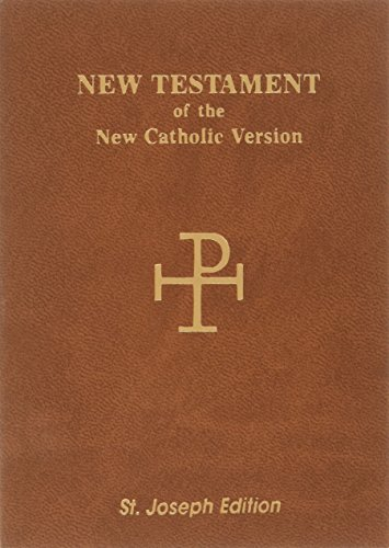 9780899426501: The New American Bible: New Testament, Saint Joseph Vest Pocket Edition