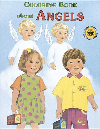 9780899426723: Coloring Book about Angels