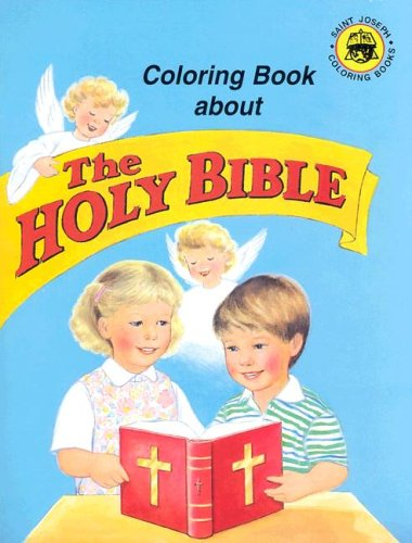9780899426761: Coloring Book About the Holy Bible