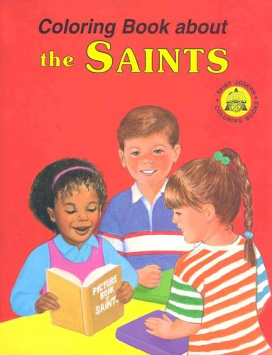 9780899426815: Coloring Book About the Saints