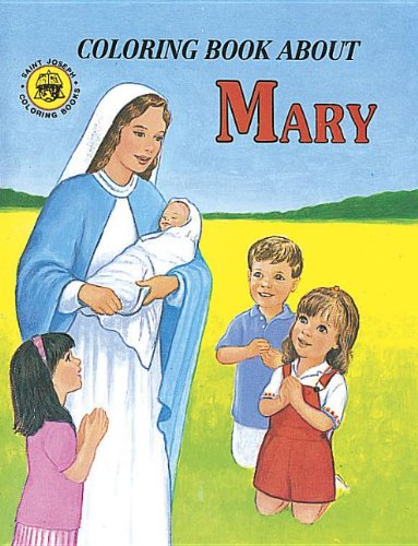 bout Mary Color Book (10-Pack): Catholic Book Publishing