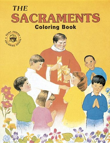 9780899426877: Coloring Book about the Sacraments/10 copy set