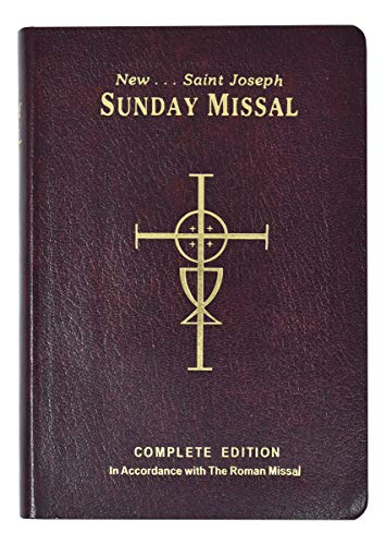 9780899428208: The New Saint Joseph Sunday Missal and Hymnal/No. 820/09