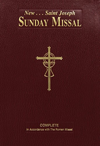 9780899428222: New Saint Joseph Sunday Missal