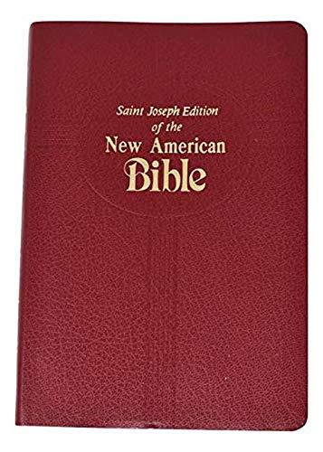 Saint Joseph Medium Size Bible-NABRE (Imitation Leather)