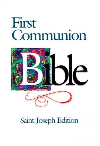 9780899429557: Saint Joseph First Communion Bible-NABRE (St. Joseph)