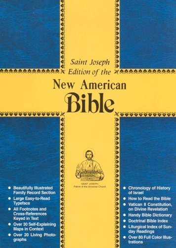 Saint Joseph Edition of the New American Bible/609-13W (0899429580) by Catholic Book Publishing Co