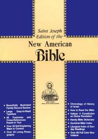 Saint Joseph Medium Size Bible-NABRE (Bonded Leather)