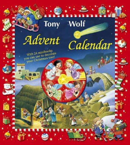 9780899429694: Advent Calendar [With 24 Mini Books]