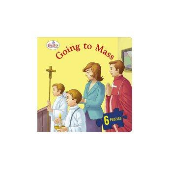9780899429892: Going to Mass (St. Joseph Beginner Puzzle Book)