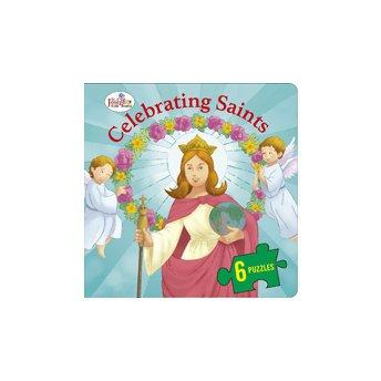 9780899429908: Celebrating Saints (St. Joseph Beginner Puzzle Book)