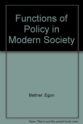 The Functions of the Police in Modern: Bittner, Egon