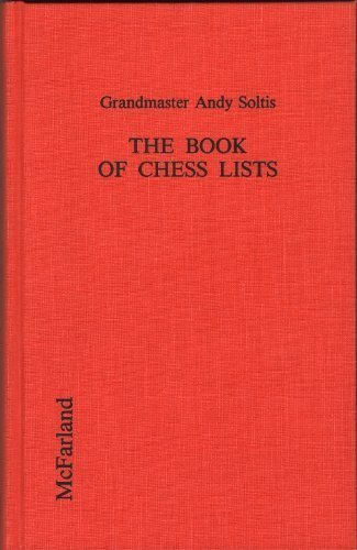The Book of Chess Lists