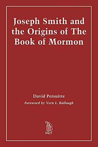 9780899501345: Joseph Smith and the Origins of the Book of Mormon