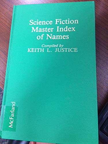 9780899501833: Science Fiction Master Index of Names