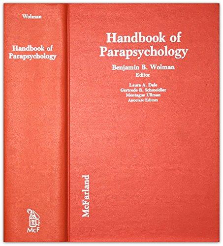 Handbook of Parapsychology
