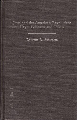 9780899502205: Jews and the American Revolution: Haym Salomon and Others