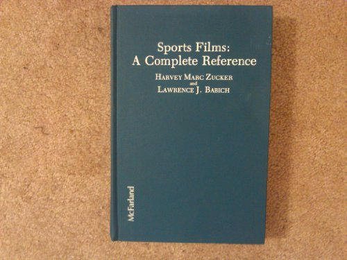 9780899502274: Sports Films: A Complete Reference
