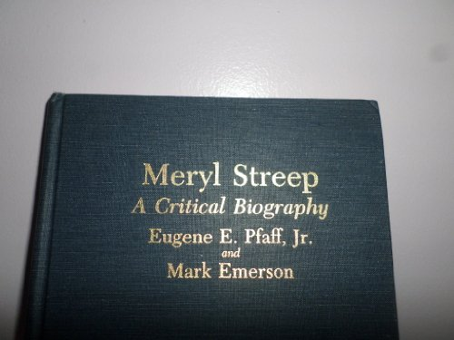 9780899502878: Meryl Streep: A Critical Biography
