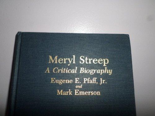 9780899502878: Meryl Streep: A Critical Biography