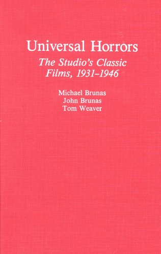 9780899503691: Universal Horrors: The Studio's Classic Films, 1931-1946
