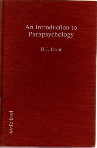 9780899503967: An Introduction to Parapsychology
