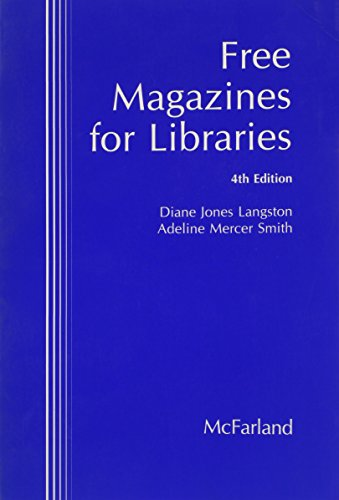 9780899509471: Free Magazines for Libraries