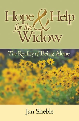 9780899571416: Hope and Help for the Widow: The Reality of Being Alone