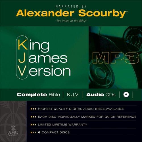 9780899575957: KJV Scourby Complete Bible Audio MP3 CDS: KJV Audio Bible