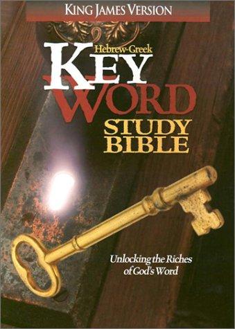 9780899576541: Hebrew Greek Key Word Study Bible-KJV