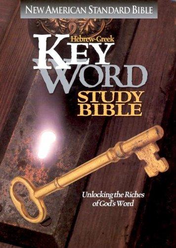 9780899576831: Hebrew-Greek Key Word Study Bible: New American Standard, Burgandy, Genuine Leather