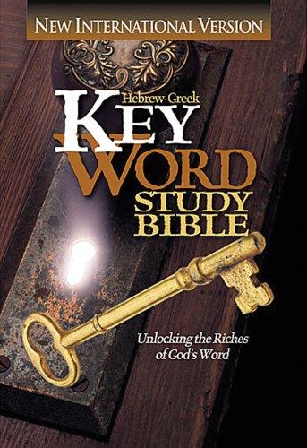 9780899577005: NIV Hebrew-Greek Key Word Study Bible : Hardbound