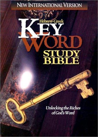 9780899577043: Hebrew-Greek Key Word Study Bible-NIV