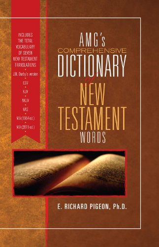 9780899577401: AMG's Comprehensive Dictionary of New Testament Words