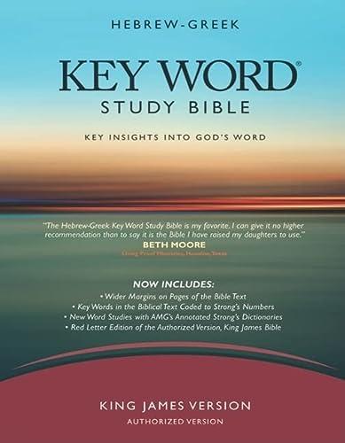 Hebrew-Greek Key Word Study Bible (2008 new edition): KJV Edition, Hardbound (Key Word Study Bibles...
