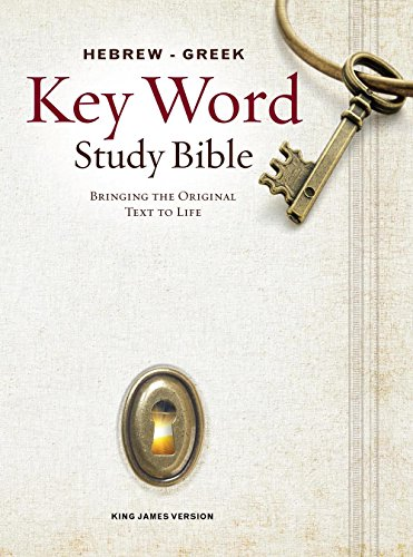 Hebrew-Greek Key Word Study Bible 2008 new