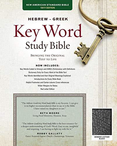 Hebrew-Greek Key Word Study Bible-NASB: Key
