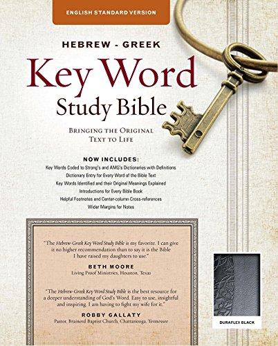 Hebrew-Greek Key Word Study Bible-ESV: Key Insights Into God s Word