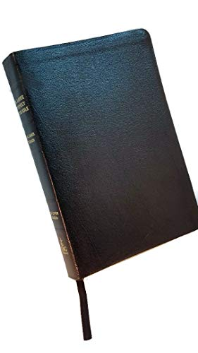 9780899579320: Prophecy Study Bible: King James Version Genuine Black Leather